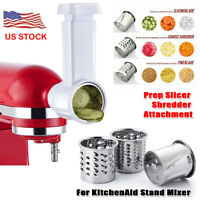 Home Prep Slicer/Shredder Attachment For Kitchenaid Stand Mixer Accessories USA