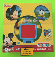 """❤️Disney Junior Mickey Mouse Clubhouse 24"""" Digital Counting Basketball Hoop❤️"""