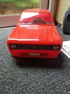 Tamiya TL-01 Ford Escort mk2 shelf queen used once RC Car 1/10th Scale Red