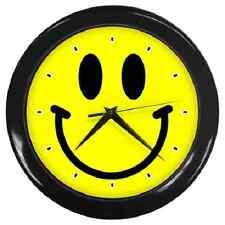 SMILEY FACE FUN WALL CLOCK **SUPERB ITEM***