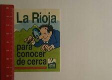 Decal/Sticker: La Rioja para conocer de cerca (24111622)