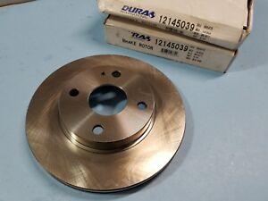 Front Disc Brake Rotor-Set fits Mazda 323,Protege, Ford Escort - Mercury Tracer