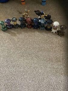 Skylanders Imaginators Creation Crystals - Set of All 10 Elements Not Reset