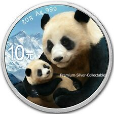 2019 China Panda - 1 Ounce Pure Silver .999 Coin - Collect them all!