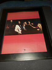 Fleetwood Mac Rumors Rare Original Promo Poster Ad Framed! #2