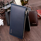 Fashion Leather Men Women Wallet ID Credit Cards Holder Organizer Purse New
