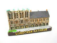 Lübeck Rathaus Modell,Souvenir Germany Deutschland,handbemalt,TOP QUALI,Neu