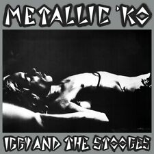"""IGGY AND THE STOOGES - METALLIC 'KO (1976)  - LP - UK IMPORT  """"LAST EVER SHOW"""""""