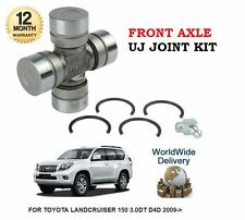 FOR TOYOTA LANDCRUISER 150 3.0DT D4D 2009->NEW FRONT AXLE UNIVERSAL UJ JOINT KIT