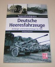 Typenkompass   Deutsche Heeresfahrzeuge   Anhänger und Sonderanhänger bis 1945