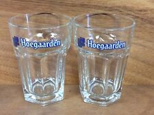 Hoegaarden Original Belgian Wheat Beer 25cl. Glass - Set of 2 Glasses - NEW