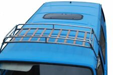 VW T25 silver powder coated steel roof rack with solid beech slats 0.6m C9070P