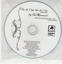 (GU29) Ed Harcourt, Do As I Say Not As I Do - 2010 DJ CD