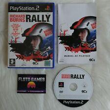 Jeu Richard Burns Rally pour PS2 Complet CIB PAL - Floto Games