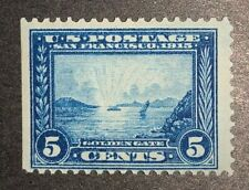 TRAVELSTAMPS: 1913 US Stamps Sc# 399 Golden Gate,Pan-Pac Issue, mint, og ,Lh