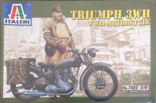 Italeri Triumph 3WH WWII Motorcycle Ref 7402 Escala 1:9