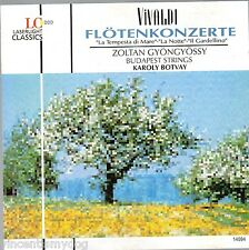 Vivaldi - Flute Concertos : Zoltan Gyongyossy & Budapest Strings (1994 CD)