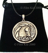 Hobbit Rohan Horse Rider Necklace LOTR Lord Of The Rings Desolation of Smaug