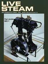 Live Steam V27 N 5 September/October 1993 Paul Jacobs' NDC-1