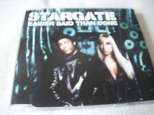 STARGATE - EASIER SAID THAN DONE - 2002 UK CD SINGLE