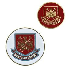 Official Licensed Football Club West Ham United Golf Ball Marker Crest Gift