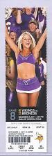 Minnesota Vikings Denver Broncos 12/4/11 Full Unused Football Ticket Tim Tebow