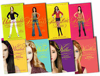 Sara Shepard Pretty Little Liars Collection 8 Books Set Wicked, Killer, Flaw