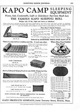 Kapo Products Co. -  Camping Equipment  -  Life Saving Garments   -   1929