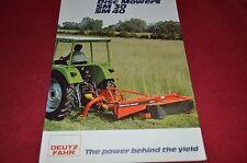 Deutz Fahr Disc Mowers Dealer's Brochure DCPA4