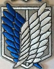 Attack on Titan Scouting Legion Recon Corps Embroidery Badge Cosplay - See Desc.