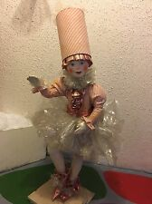 RARE Animated Vintage Mechanical Hamberger Store Display Candy Fairy Elf
