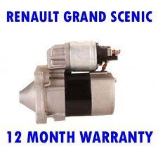 RENAULT GRAND SCENIC MK2 MK II 1.6 MPV 2004 2005 2006 - 2015 RMFD STARTER MOTOR