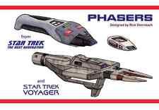 Star Trek TNG Voyager Phaser Development Book & Blueprints