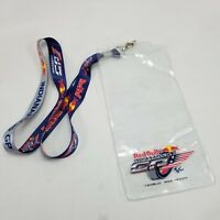 2012 Indianapolis 500 Event Lanyard Credential Ticket Holder Red Bull 96th