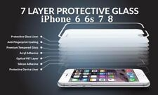 2xBest Quality Clear Temper Glass Screen Protector for iPone 5 5s SE 6s 7 8 x