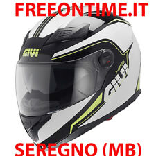 CASCO INTEGRALE MOTO GIVI 50.4 SNIPER SPECTRUM INTERNO STACCABILE NERO GIALLO