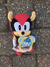 "Sonic the Hedgehog Plush Figure, Mighty, 7"", New"