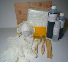 Fiberglass Cloth Repair KIT *Marine resin* 1qt V.E.