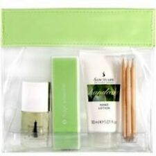 Sanctuary Mini Manicure Travel Set in Bag Hand Lotion etc Mother's Day Gift -NEW
