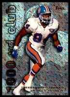 1995 Topps HoloPRISM #29 Shannon Sharpe HOF RARE INSERT Denver Broncos