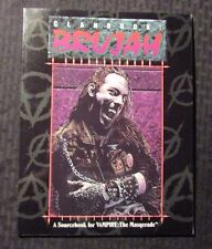 1992 CLANBOOK BRUJAH Sourcebook SC VF 80 Vampire Masqurade