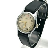 Small Soviet POBEDA Red 12 WW2 Men Mechanical CHCHZ 1953 Watch Collectible USSR