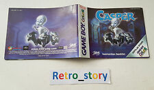 Nintendo Game Boy Color Casper Notice / Instruction Manual