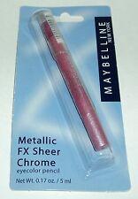 Maybelline Metallic Fx Sheer Chrome EyeColor Pencil Metal Petal Nip
