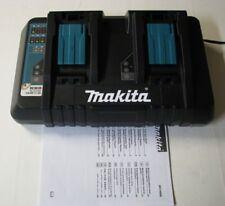 *Makita 220V - 240V Rated DC18RD 7.2v-14.4v & 18v LXT Dual Port Battery Charger