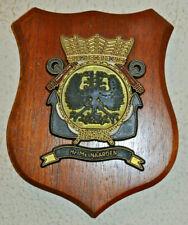 Hr Ms Naarden plaque shield crest Dutch Navy gedenkplaat HNLMS
