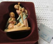 Fontanini Nativity Scene, Joseph, Mary & Jesus, Made In Italy By Roman