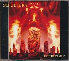 Sepultura Territory RARE Out of Print import CD single '93