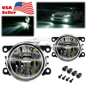 Pair LED 60W Fog Light OEM Quality Replacement For 09-20 Mitsubishi Outlander F5