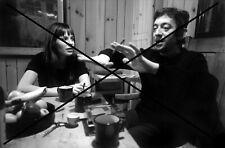 PHOTO DE SERGE GAINSBOURG JANE BIRKIN 1970